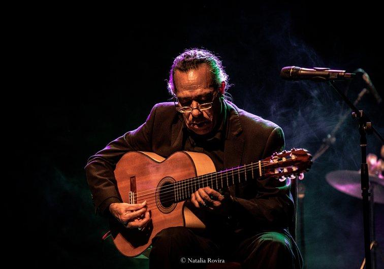 Toto Méndez de gala