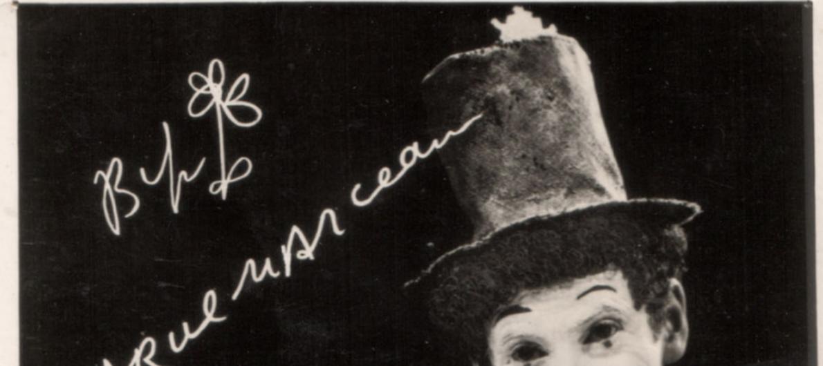Las máscaras y Marcel Marceau visitante del Solís
